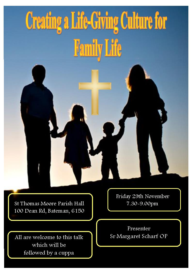 Family Life - Culture 8-11-13