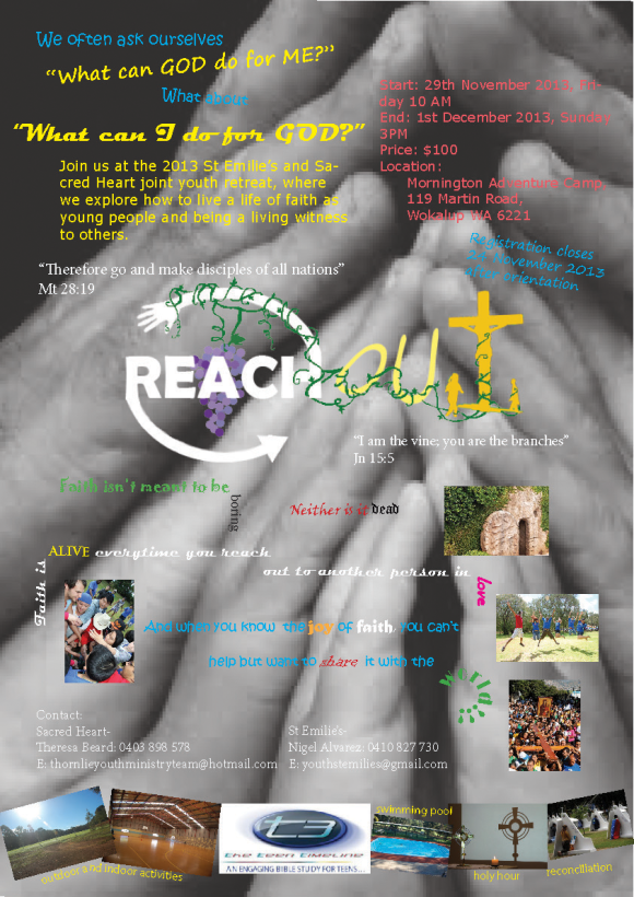 Reach Out PosterPress