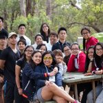 girls and guys having fun camping January 25 2017
