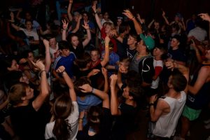 Youth party at teen's camp 2017