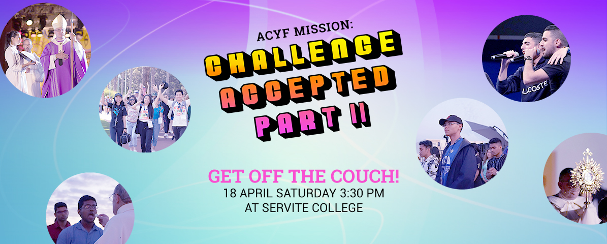 Cancelled: ACYF Challenge Accepted Part 2: Get off the Couch!