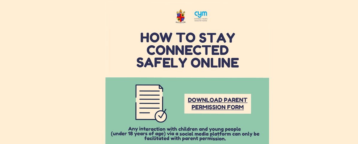 How to Stay Connected Safely Online banner
